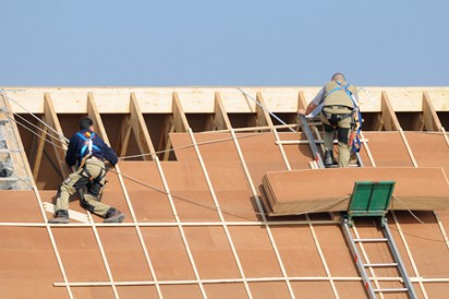 Roof Installation by Roofers